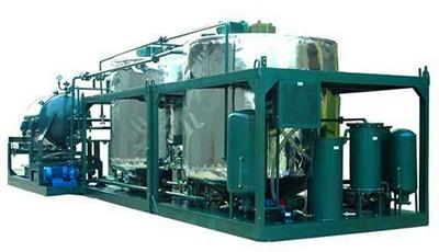 Series LYE Waste Mineral Engine Oil Recycling System, Motor Oil Purification Plant