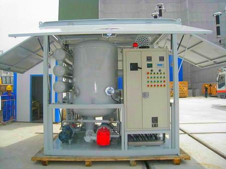 Series ZYD-W Fully-enclosed type Insulating Oil Purifier, Transformer Oil Purification, Oil Reconditioning Plant