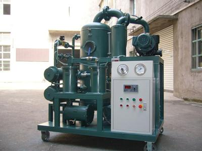 Double-stage Vacuum Transformer Oil Filtration Machine Series ZYD