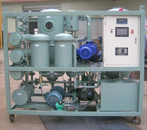 Double-stage High Vacuum Transformer Oil Regeneration Machine Series ZYR