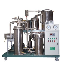 COP Series Stainless Steel Type Used Cooking Oil Purifier Machine for Edible